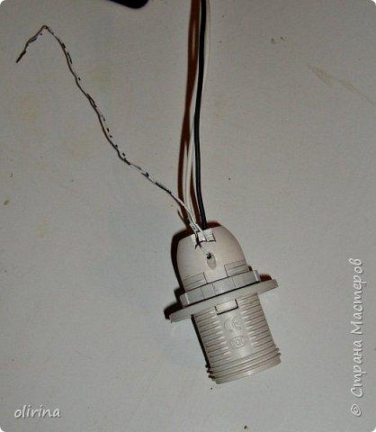 Всем доброе время суток.Ещё один мастер-класс светильника, он сделан немного по другому. фото 7