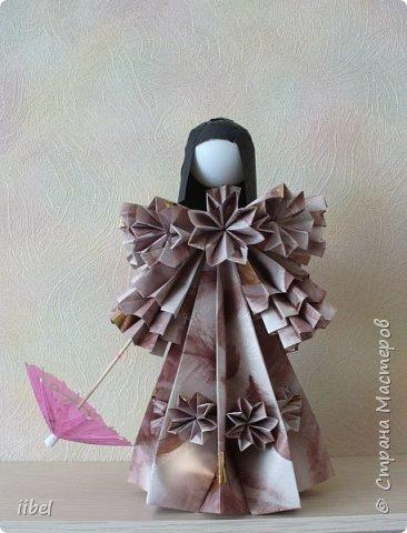 Куклы - модульное оригами фото 2