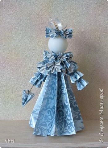Куклы - модульное оригами фото 1