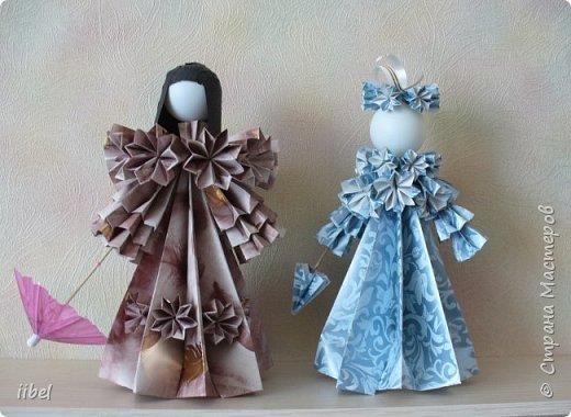 Куклы - модульное оригами фото 3