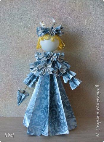 Куклы - модульное оригами фото 4