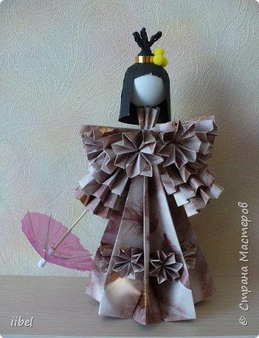 Куклы - модульное оригами фото 5