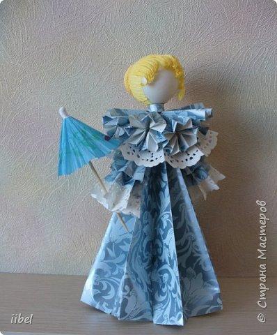 Куклы - модульное оригами фото 6