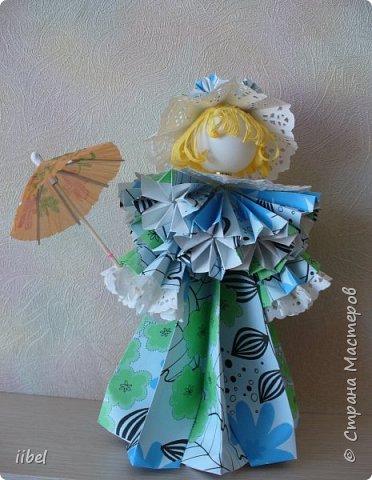Куклы - модульное оригами фото 7