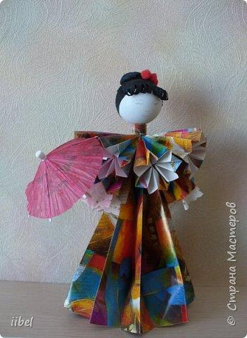 Куклы - модульное оригами фото 8