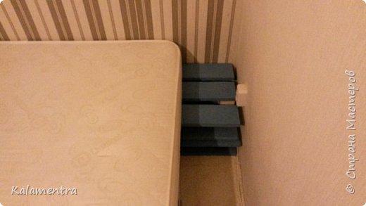 Хочу поделиться с Вами, как я сделала кровать из паллетов (деревянных поддонов))))  фото 12