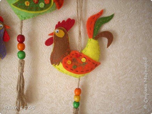 Девочки, следующий год - год Петуха, у нас есть время подготовиться и пошить милые игрушки, которые могут стать подарками или украшением для ёлки. фото 3