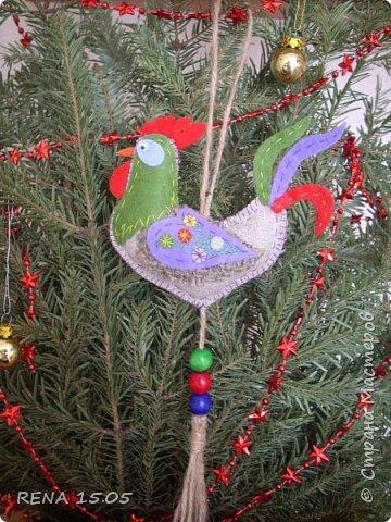 Девочки, следующий год - год Петуха, у нас есть время подготовиться и пошить милые игрушки, которые могут стать подарками или украшением для ёлки. фото 11