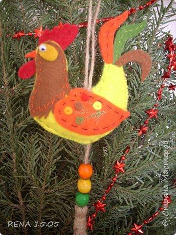 Девочки, следующий год - год Петуха, у нас есть время подготовиться и пошить милые игрушки, которые могут стать подарками или украшением для ёлки. фото 2