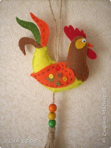 Девочки, следующий год - год Петуха, у нас есть время подготовиться и пошить милые игрушки, которые могут стать подарками или украшением для ёлки. фото 4
