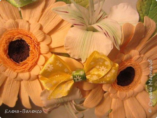 Интерьерный веночек (холодный фарфор) фото 2