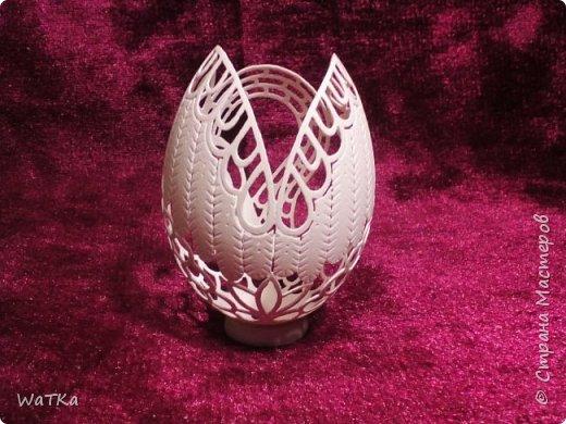"""Уж очень мне приглянулась царевна-лебедь у Марины meribesi """"Что осталось от яиц?!"""", что я решил и в свою копилку положить такую-же. Большое спасибо тебе, Марина!!! фото 5"""
