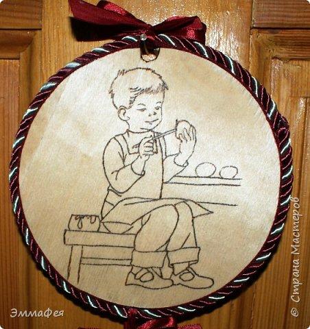 Спасибо Светлане Хачиной за вдохновение http://stranamasterov.ru/node/864218?c=favorite Её вертеп идеален, у меня получилось не так, но  тоже миленько. Особенно мне нравится Иосиф - я ему пришила бородку и на голове шнур золотой закрепила. фото 6