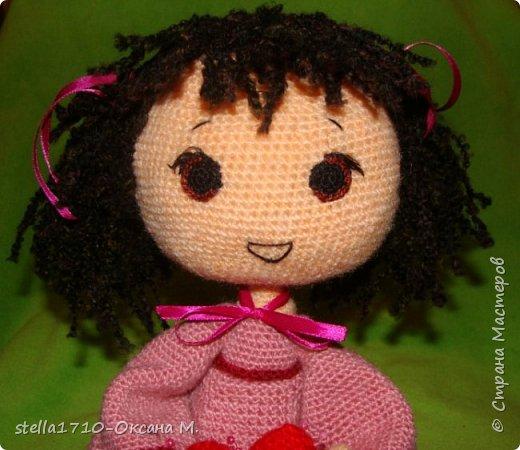 Авторская работа - интерьерная кукла, Анечка. фото 5