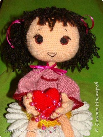 Авторская работа - интерьерная кукла, Анечка. фото 2