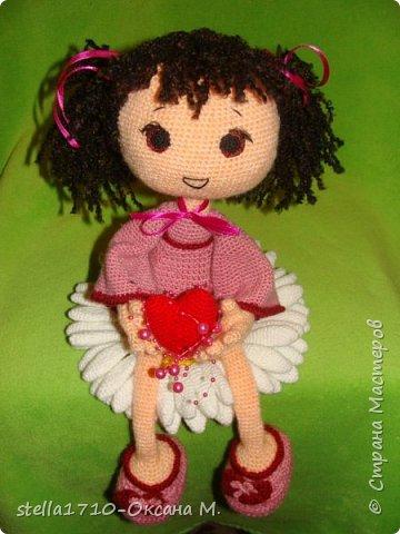 Авторская работа - интерьерная кукла, Анечка. фото 1