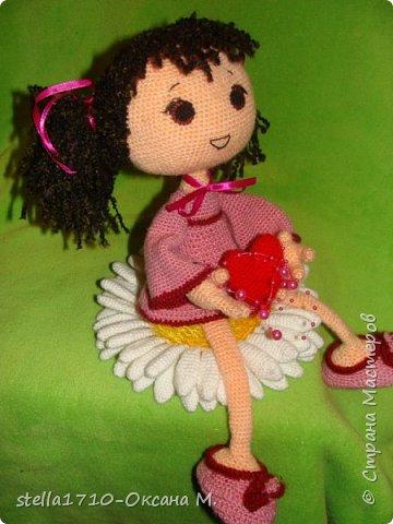 Авторская работа - интерьерная кукла, Анечка. фото 3