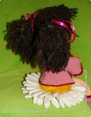 Авторская работа - интерьерная кукла, Анечка. фото 4