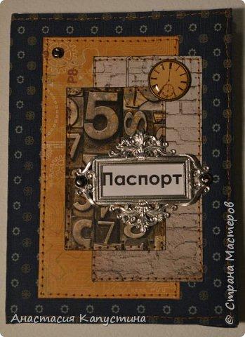 Тканевые обложки на паспорт для мужчин фото 3
