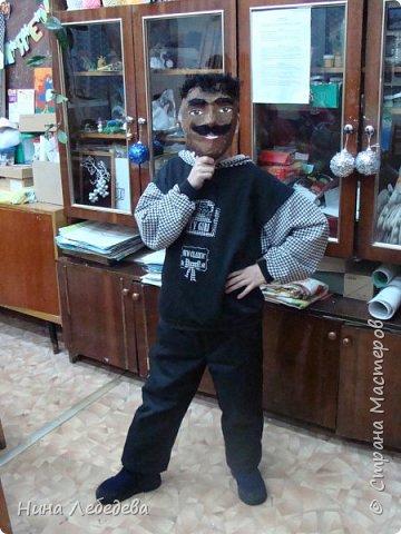 наше творчество с детьми(роспись футболок и маски) фото 19