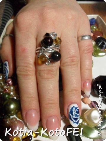 А вот и кольцо для кулончика фото 4