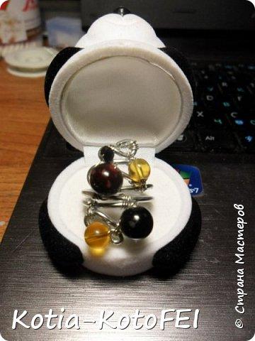 А вот и кольцо для кулончика фото 3