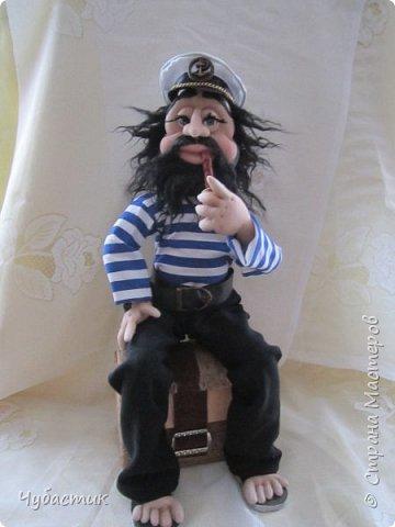 Доброго Всем времечка!!!!!! Вот такой моряк. Заказали в канун праздника делала по быстренькому: фото 1