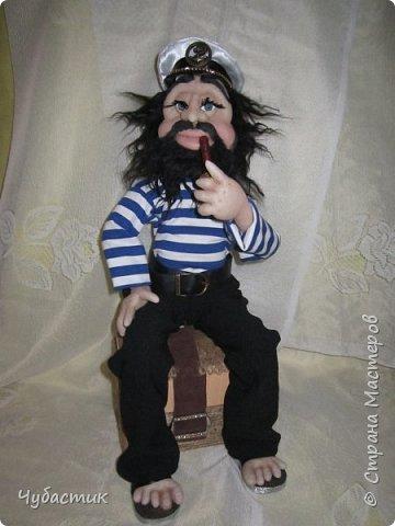 Доброго Всем времечка!!!!!! Вот такой моряк. Заказали в канун праздника делала по быстренькому: фото 10