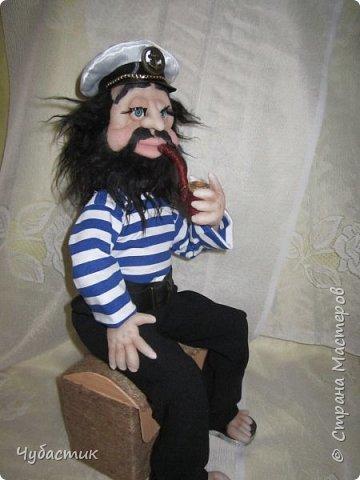 Доброго Всем времечка!!!!!! Вот такой моряк. Заказали в канун праздника делала по быстренькому: фото 2
