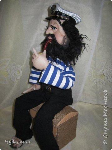 Доброго Всем времечка!!!!!! Вот такой моряк. Заказали в канун праздника делала по быстренькому: фото 3