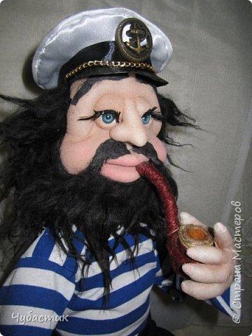 Доброго Всем времечка!!!!!! Вот такой моряк. Заказали в канун праздника делала по быстренькому: фото 4