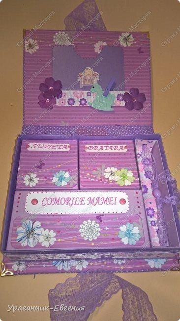 Мамины сокровища в фиолетовом цвете. фото 5