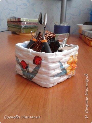 Здравствуйте жители Страны Мастеров! На днях было время заняться плетением и навояла несколько коробочек. Хвастаюсь результатом. фото 3