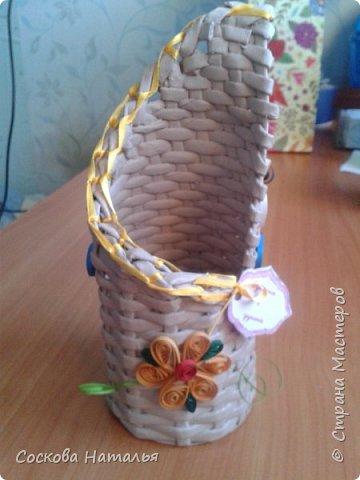 Плетеный подарок фото 1