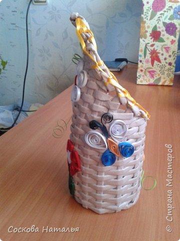 Плетеный подарок фото 2