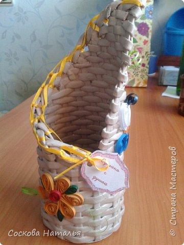 Плетеный подарок фото 5