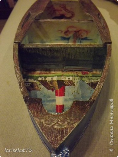 Ключница - лодка. Подарок мужчине - другу мужа. фото 10