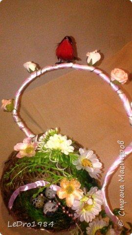 Гнездо-топиарий фото 2