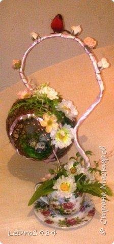 Гнездо-топиарий фото 1