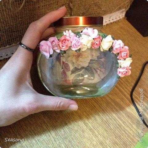 Декупаж, чудо бутылочка для вдохновения, для интерьера :) или... фото 3