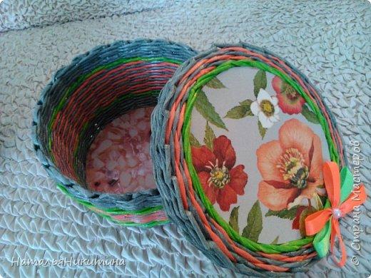 Мои радужные плетенки. Утилизировала остатки цветных трубочек. Веселенькие получились. фото 22
