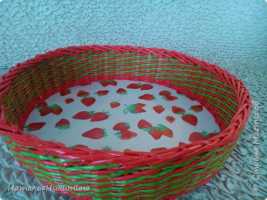 Мои радужные плетенки. Утилизировала остатки цветных трубочек. Веселенькие получились. фото 41