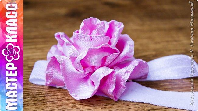 В этом видео уроке я покажу как можно сделать розу из ткани своими руками. Для этого вам понадобится всего лишь 80 см ленты, иголка с ниткой, клеевой пистолет. А также если вы захотите приклеить цветок на какую либо основу, вам понадобится сама основа и кусочек ленты с принтом (ручная работа) или любая другая лента в тон. В моем видео я решила сделать детскую повязочку для волос, поэтому я взяла эластичную бейку.   Приятного просмотра и Творческого вдохновения. Если вам понравился урок, поделитесь им с друзьями. Если во время просмотра ролика у вас возникли какие либо вопросы, пишите их в комментариях, я постараюсь ответить на них.