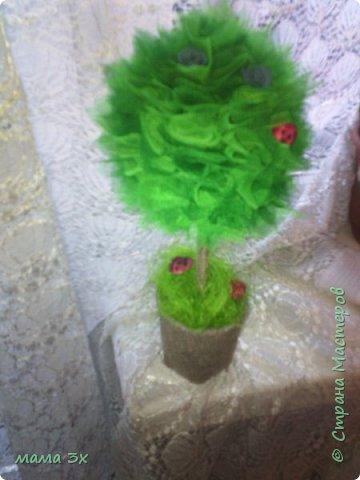 первое мое дерево из фатина фото 1