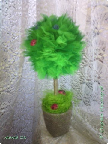 первое мое дерево из фатина фото 3