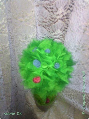 первое мое дерево из фатина фото 5