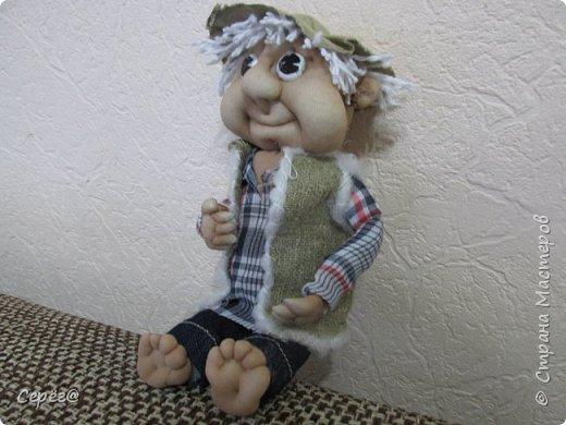 Всем привет, осваиваю новые виды поделок. Моя первая кукла. Знаю что до идеала далеко, но и этим пока горжусь. фото 3