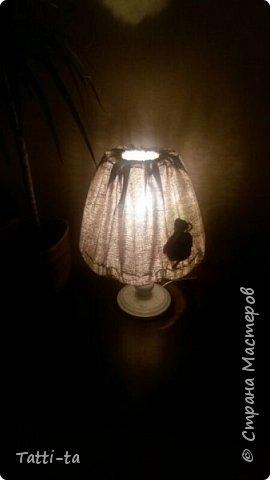 Решила дать второй шанс настольной лампе..... фото 4