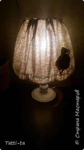 Решила дать второй шанс настольной лампе..... фото 5