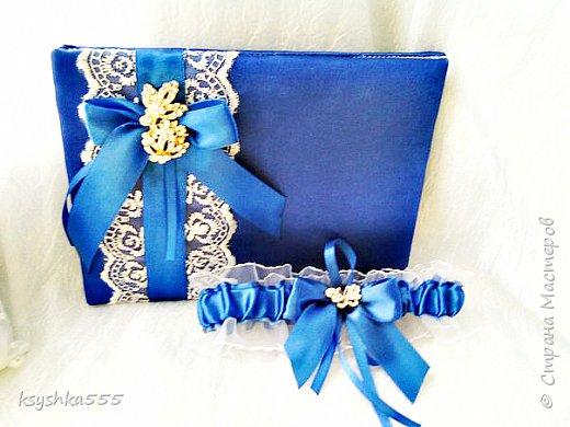 Бело-синий - чарующий и магический цвет! Свадьба, оформленная в бело-синих тонах, получается поистине волшебной! фото 6